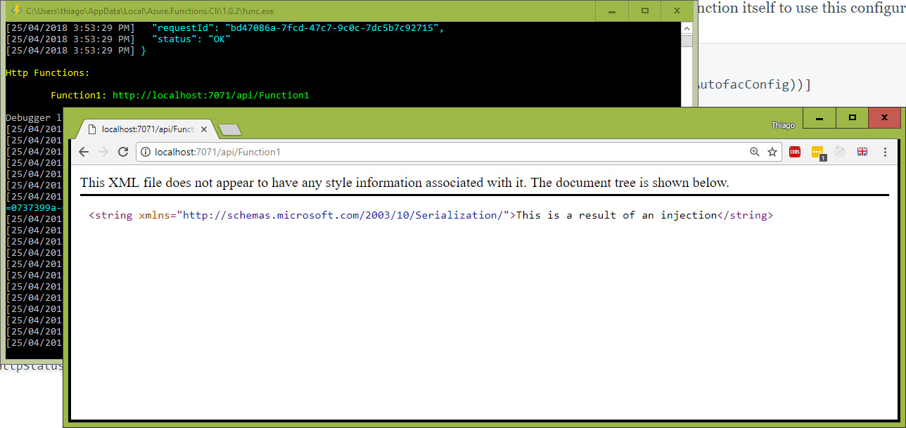 Azure Functions: Dependency Injection